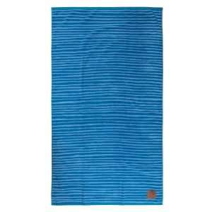 Beach Towel Navy Light Blue