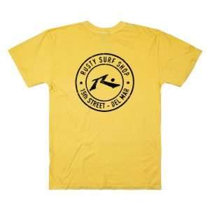 Oval Stamp T-Shirt in Blonde