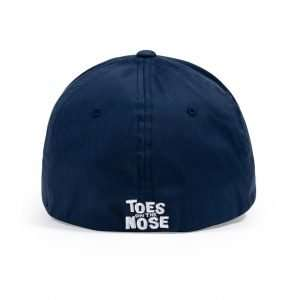 Toes on the Nose Shadowman Fitted Hat Navy