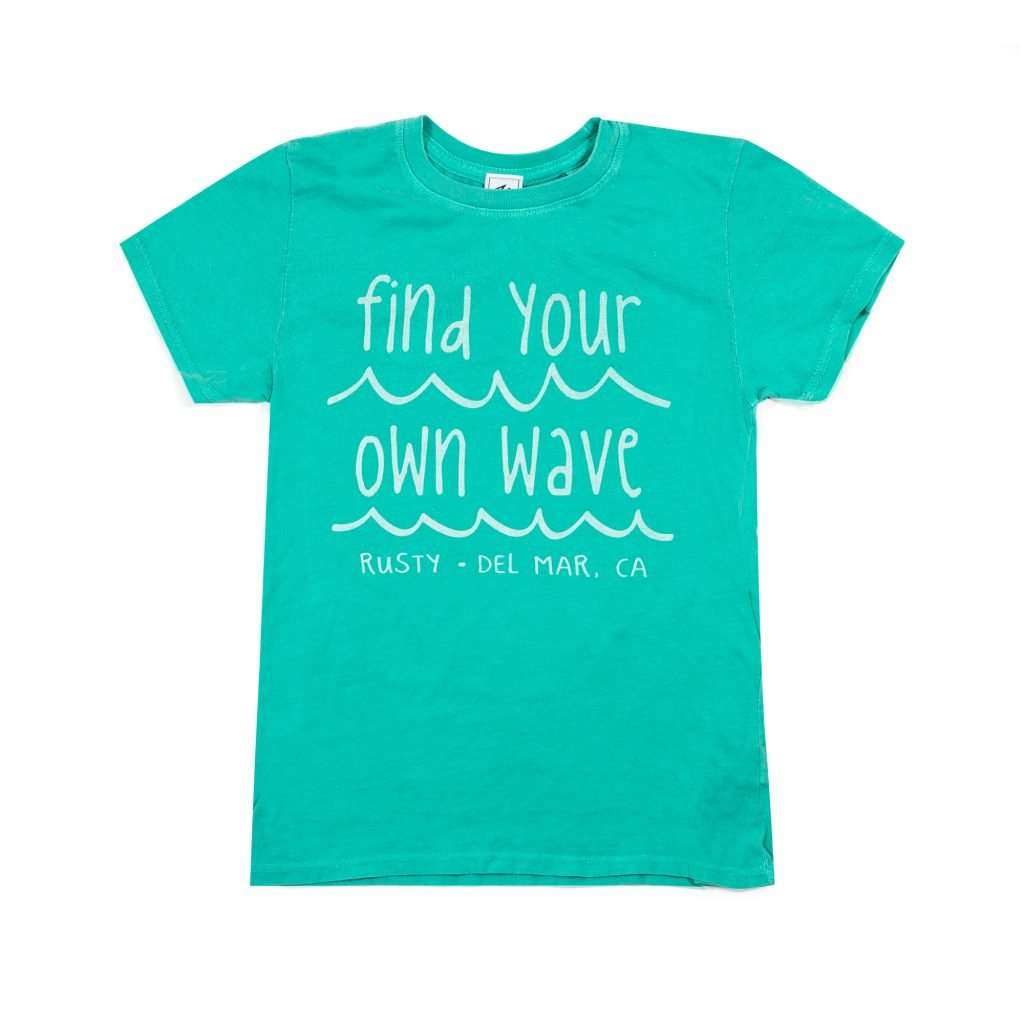 Searching Waves Youth Girls T-Shirt